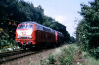 215 076 in Gladbeck-Zweckel am13.08.1993